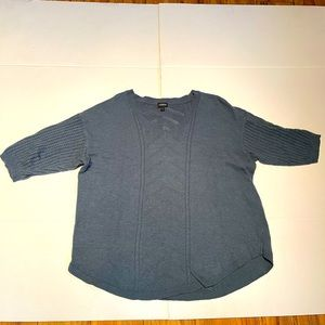 TORRID woman's Blue Blouse size 3